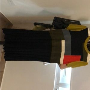 Vince camuto color block dress !!!